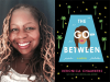 Veronica Chambers author photo and The Go Between cover image