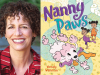 Wendy Wahman author photo and Nanny Paws cover image