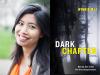 Winnie M Li author photo and Dark Chapter cover image
