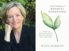 Wynn Burkett author photo and The Power of mindful Parenting cover image