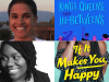 Author and cropped cover images for Tanya Beteju and Claire Kann