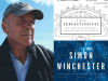 Simon Winchester author photo and The Perfectionists cover image
