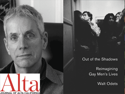 WALT ODETS author photo and book cover image
